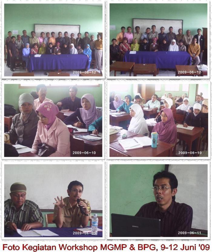 MGMP Workshop