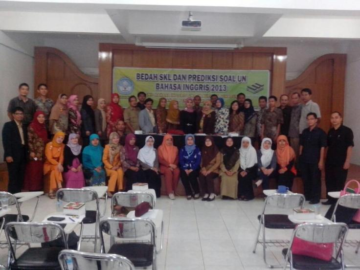 MGMP GELAR WORKSHOP BEDAH SKL 2013